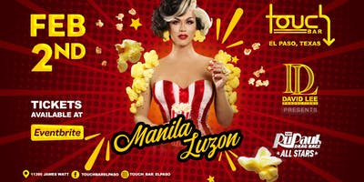 Manila Luzon • RuPaul's Drag Race All Stars 4 • Live at Touch Bar El Paso