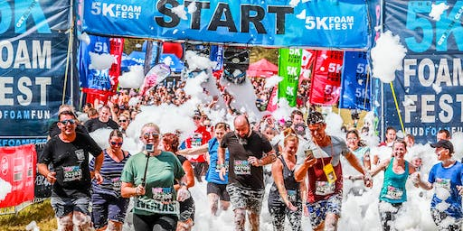 THE 5K FOAM FEST - BRISBANE Jan 11/12, 2020