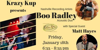 Boo Radley with Special Guest Matt Hayes