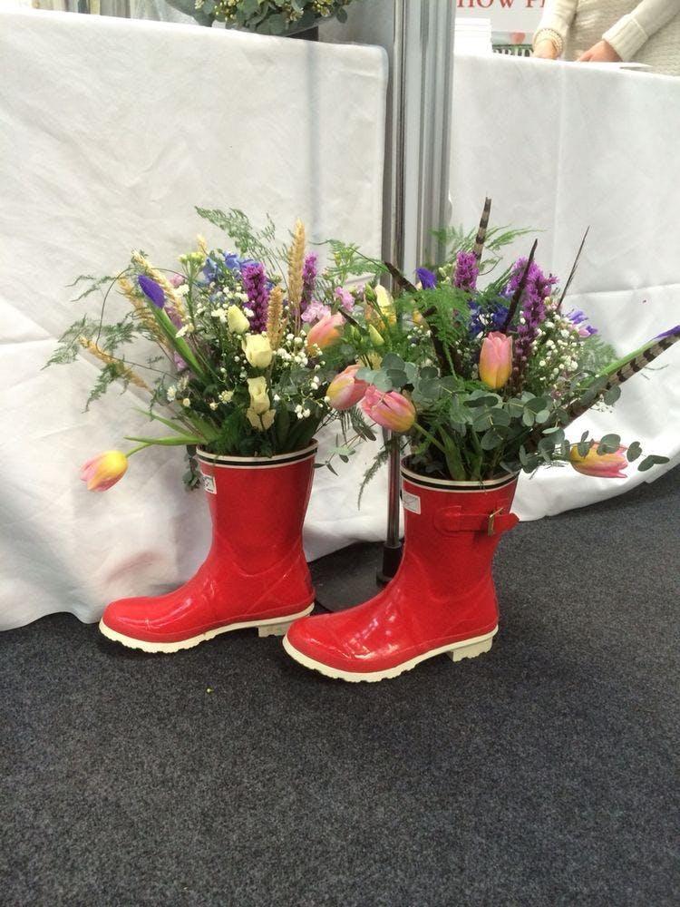 Lytham Flower School - Floral Wellies - (Flor