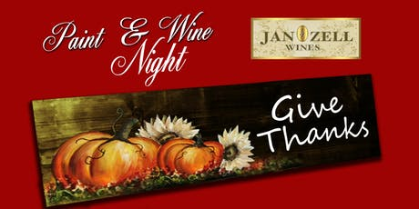 Jan Zell Wines Paint Event tickets