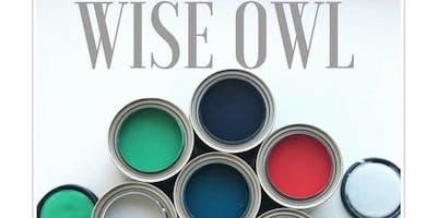 Wise Owl Chalk Synthesis Paint Workshop 101- Paint your own piece.