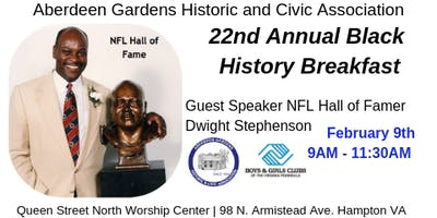 22nd Annual Black History Breakfast