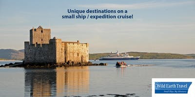 Unique destinations on a small ship/ expedition cruise!