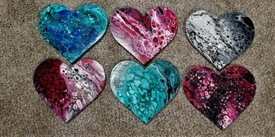 Special Valentine's Day Heart Painting Class