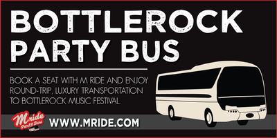 BottleRock Napa Party Bus - SATURDAY