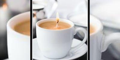 Tea Cup Candle DIY