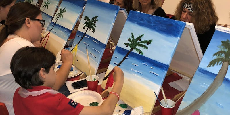 Astoria Paint Night Fundraiser for Children Have Dreams Too
