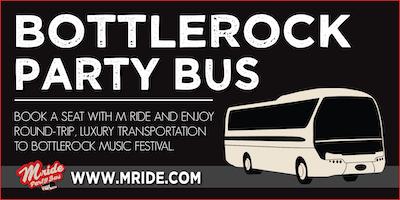BottleRock Napa Party Bus - SUNDAY