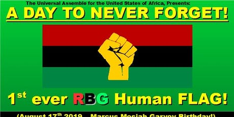 The Red Black and Green Human Flag at Baltimore City, Maryland tickets