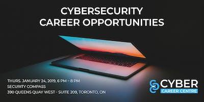 Cyber Career Centre - Cybersecurity Career Opportunities (Jan 24, 2019)