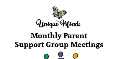 Monthly Parent Support Group Meeting