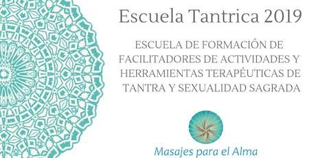 Escuela Tantrica 2019 entradas