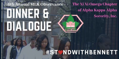 6th Annual MLK Observance Dinner and Dialogue
