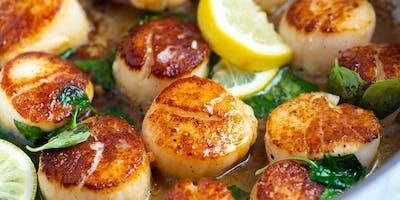 Quick+Fix+Dinner%3A+Seared+Sea+Scallops+over+Cr