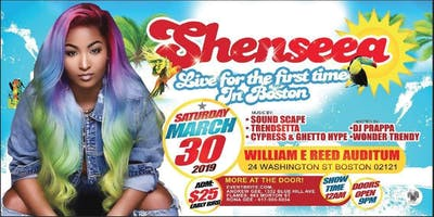 Shenseea LIVE IN BOSTON