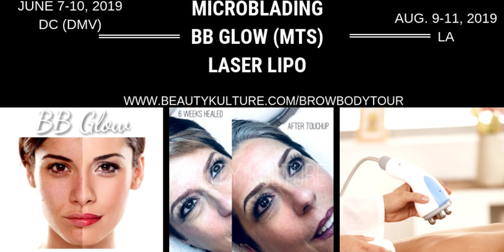 BEAUTY KULTURE SKIN INSTITUTE- MICROBLADING MICROSHADING BB GLOW