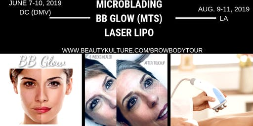 BEAUTY KULTURE SKIN INSTITUTE- MICROBLADING MICROSHADING BB GLOW BODY CONTOUR CERTIFICATION