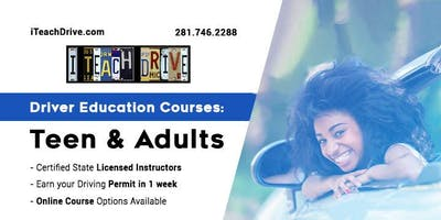 Adult Driver Education 18+