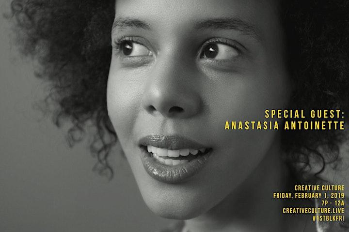 Creative Culture, Vol. 1 - Black Love. Live Performances + Food & Drinks. image