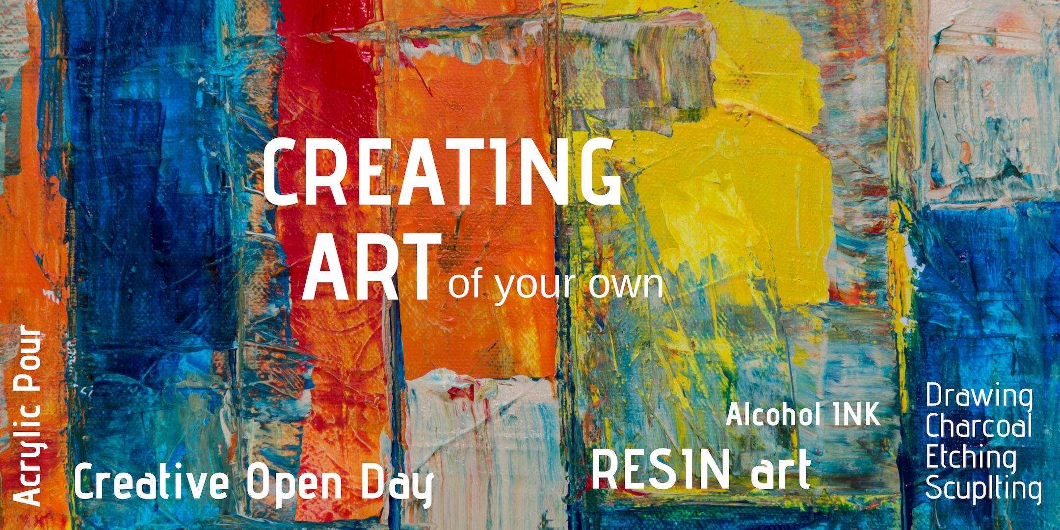 Creating Art - Saturday 9th Feb 10:00am