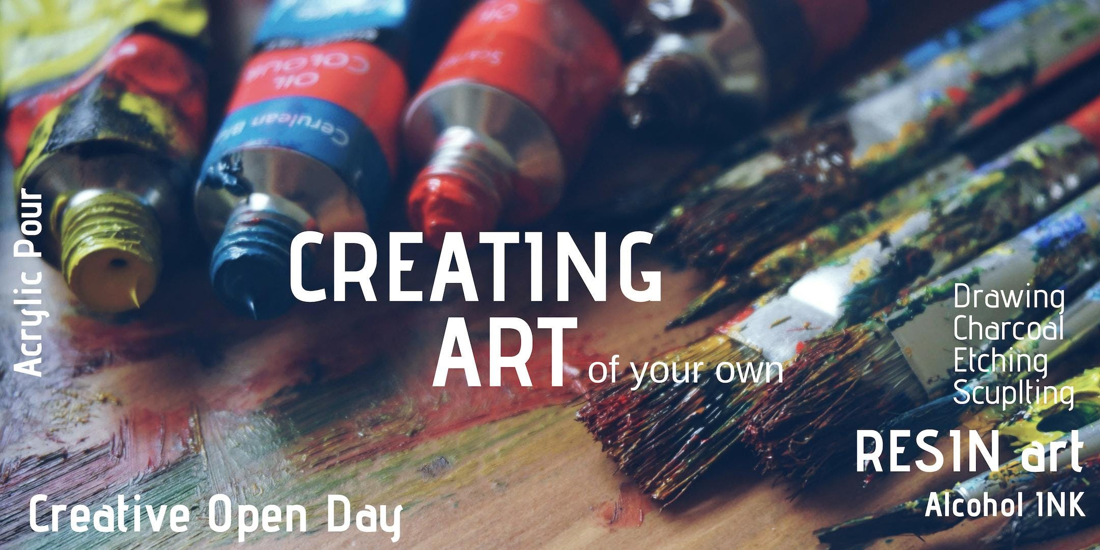 Creating Art - Saturday 9th Feb 3.00pm