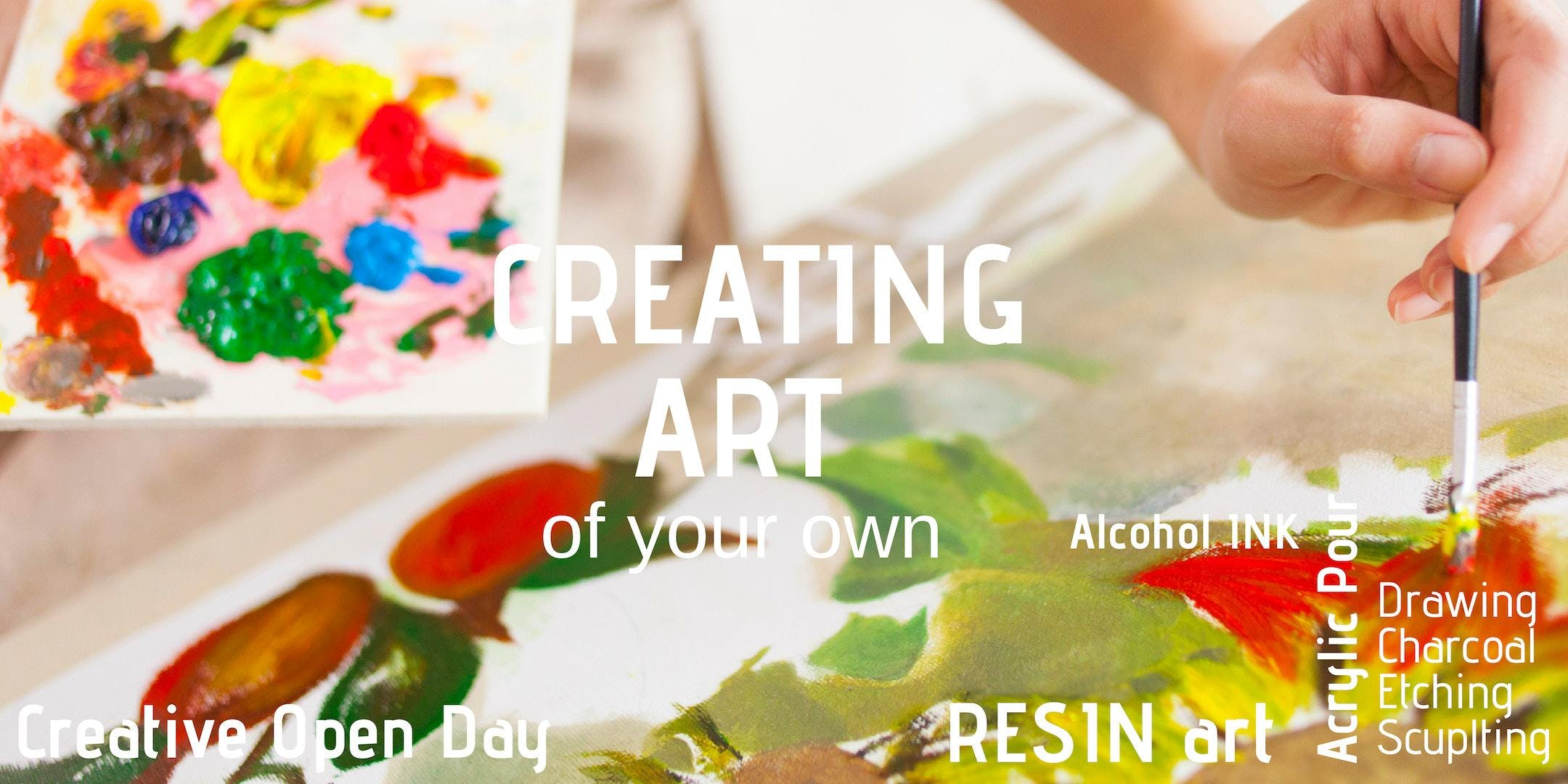 Creating Art - Sunday 17th Feb 10:00am