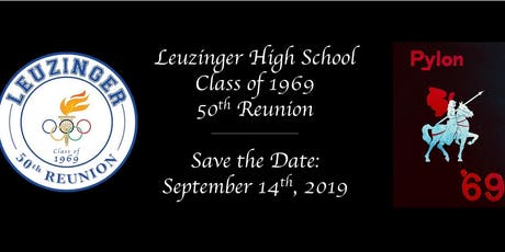 Leuzinger High School Class of '69 // 50th Reunion tickets