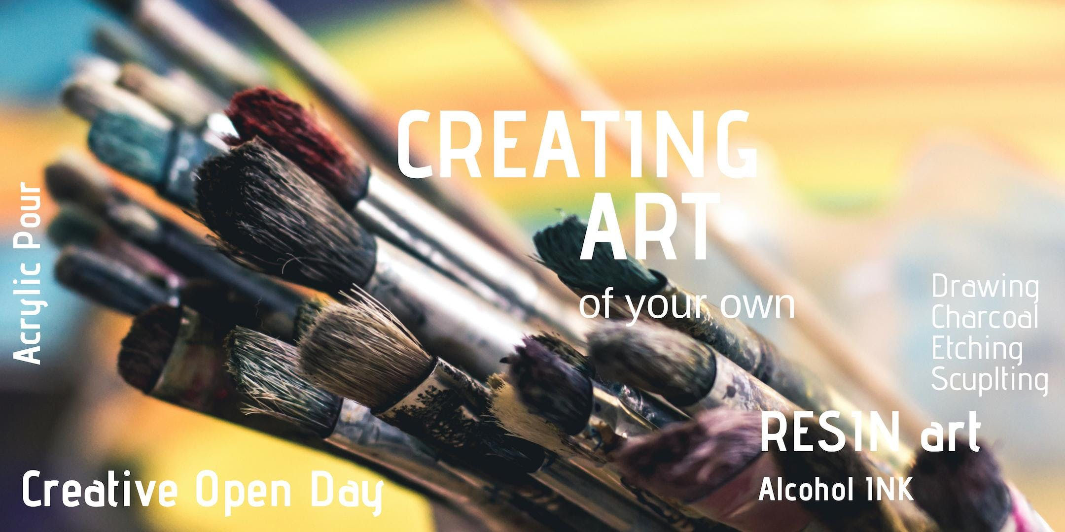 Creating Art - Sunday 17th Mar 3:00pm