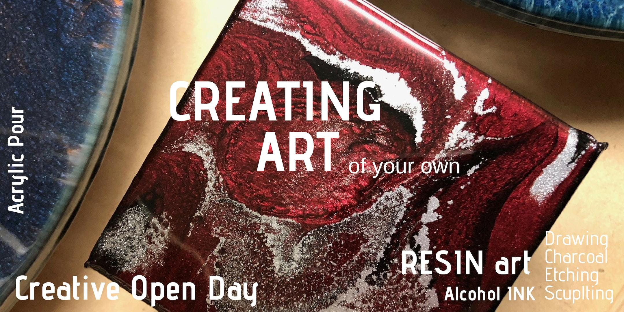 Creating Art - Sunday 17th Mar 10:00am