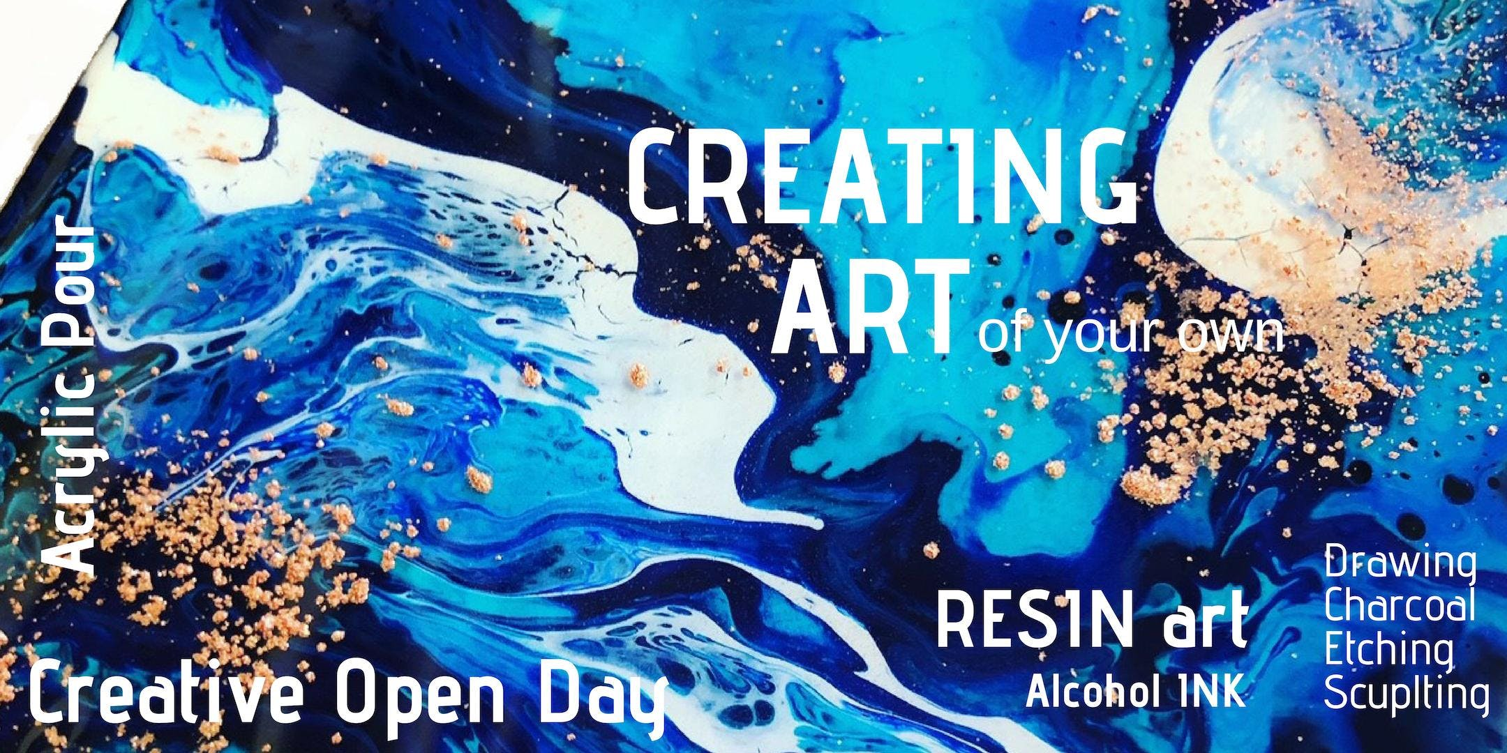 Creating Art - Sunday 17th Mar 12:30pm