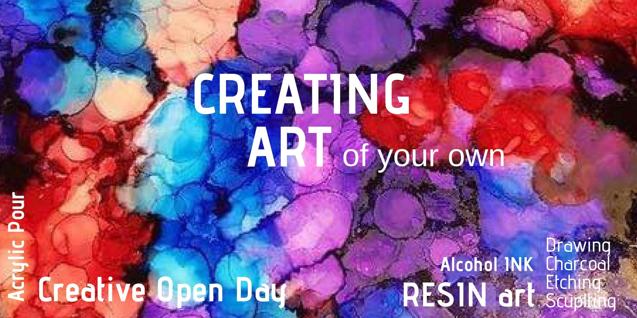 Creating Art - Saturday 13th Apr 10:00am