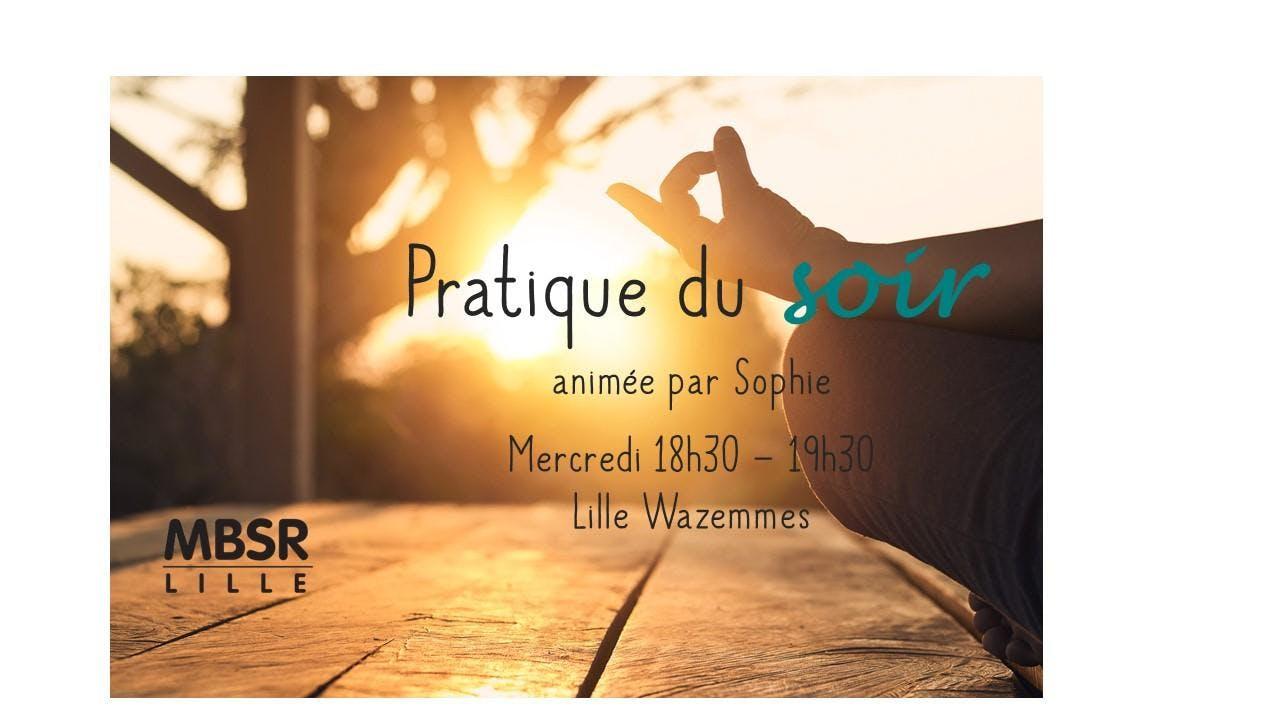 MBSR-Lille : Pratique du soir à Wazemmes