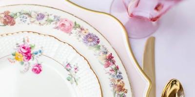 Galentine's Day Afternoon Tea de Fleurs