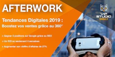 AFTERWORK / Tendances Digitales 2019 : Boostez vos ventes grâce au 360°