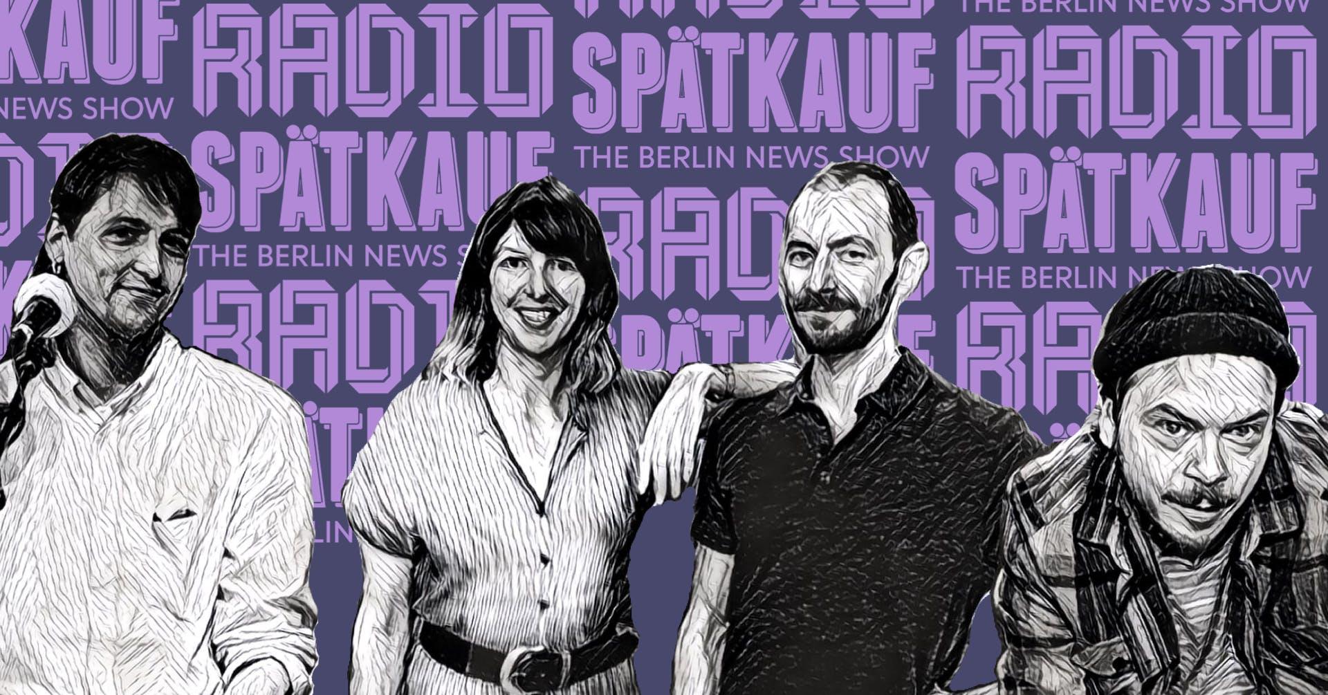 Radio Spaetkauf Podcast Recording February