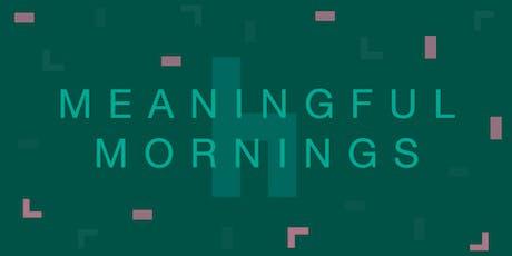 Meaningful Mornings: Hvordan opnår brands forbrugernes tillid? tickets