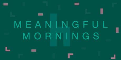 Meaningful Mornings: Fremtidens forbruger vil underholdes tickets