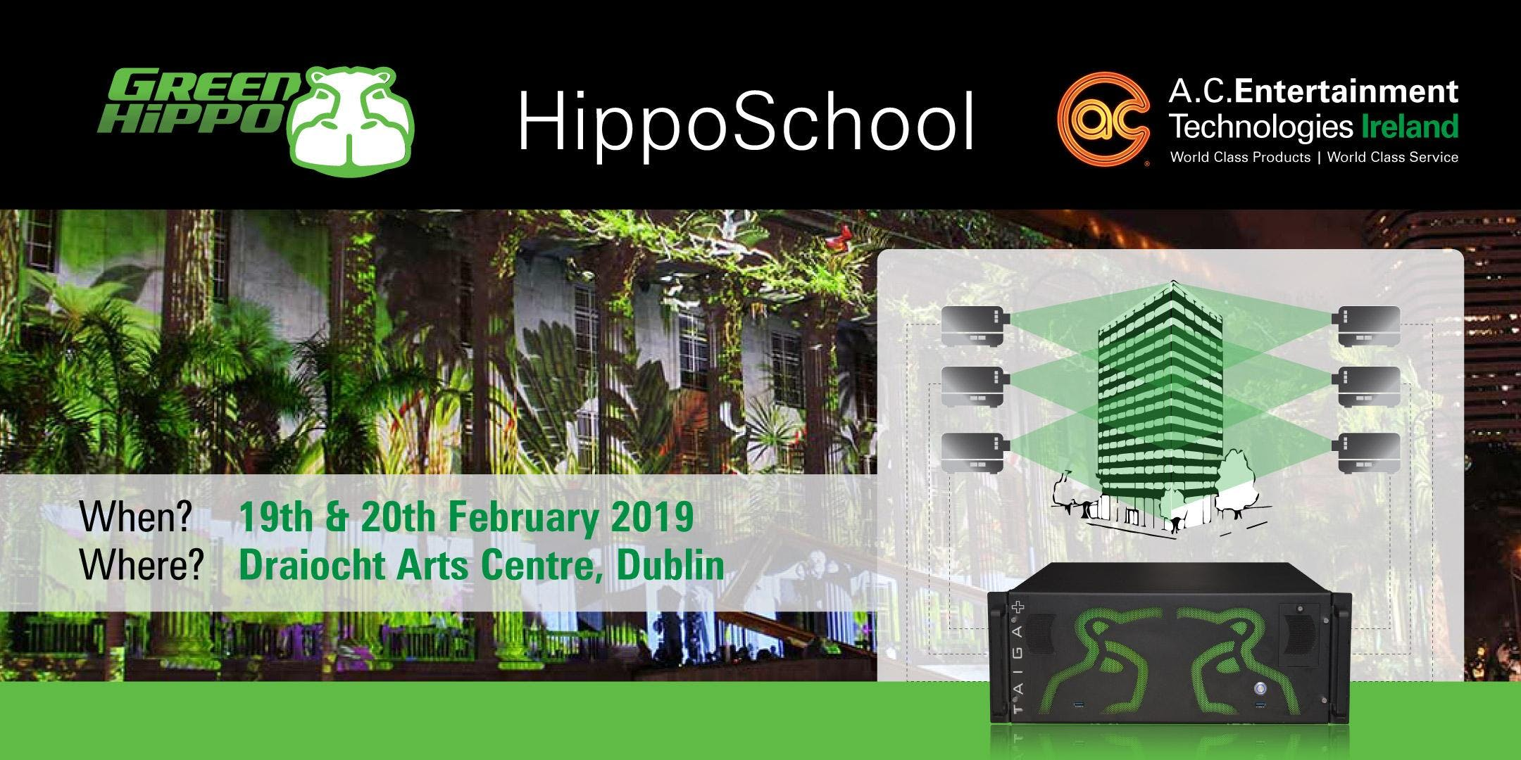 HippoSchool - Green Hippo Hippotizer Media Server Training