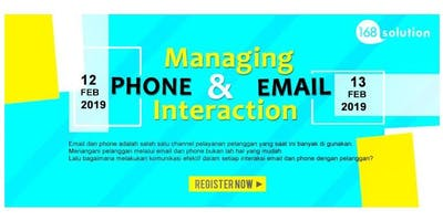 [Paid Training] Successful Managing Phone Interaction