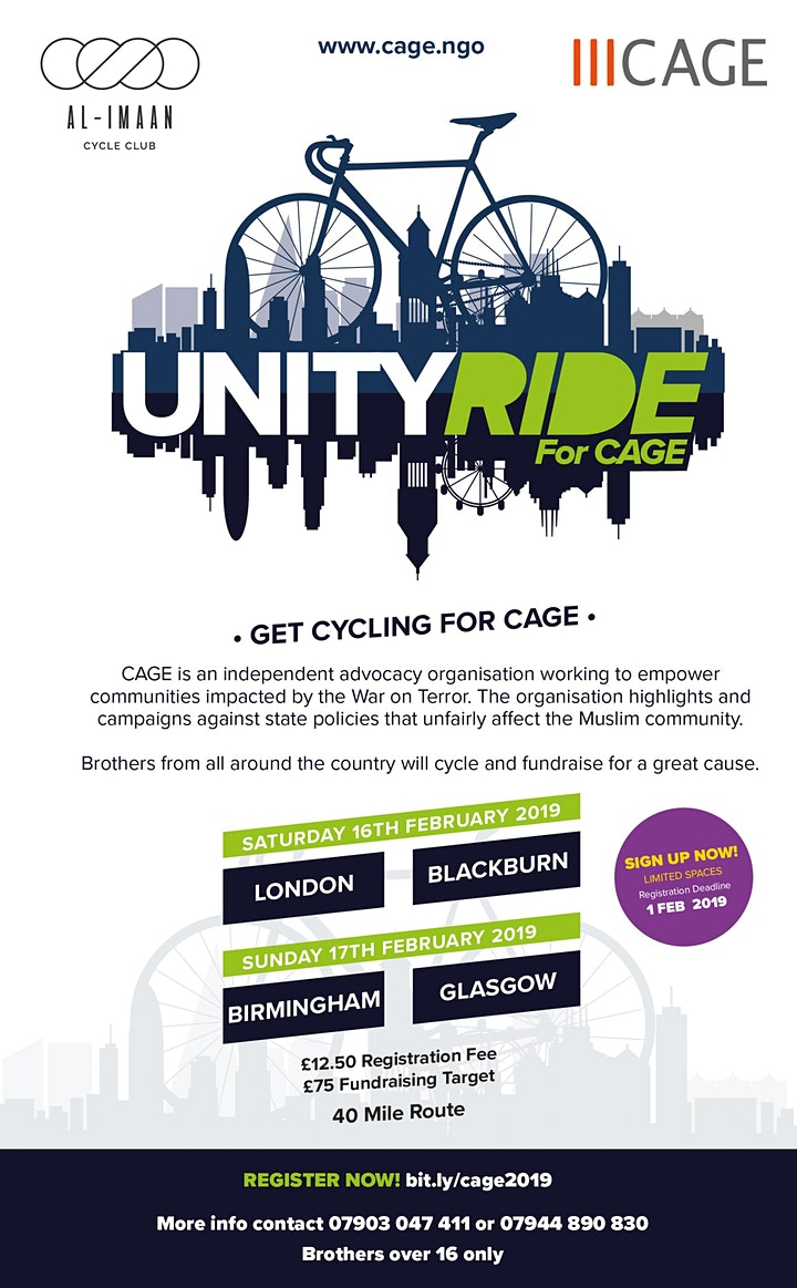 Unity Ride - CAGE image