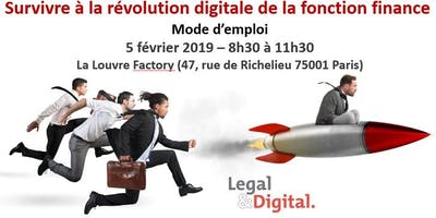 Survivre à la révolution digitale de la fonction finance