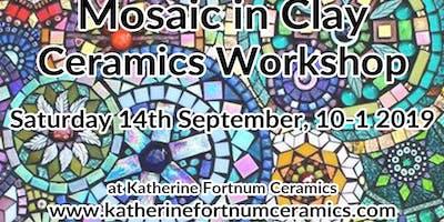 Ceramic mosaic ceramics workshop