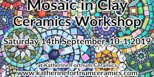 Ceramic mosaic ceramics workshop