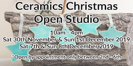 Christmas Open Studio Weekends 2019 tickets