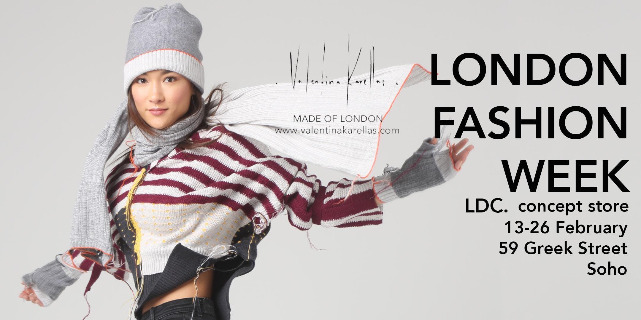 LONDON FASHION WEEK- Valentina Karellas joins Lone Design Club + Concept Store