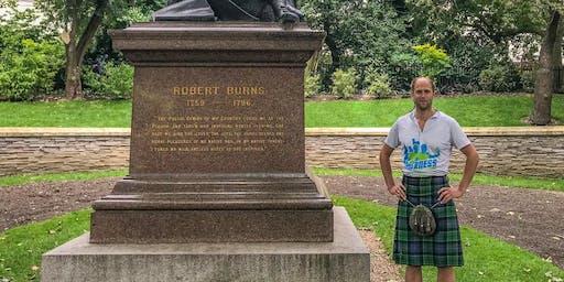 London Kilt Run 10k - Robert Burns Scottish Theme!