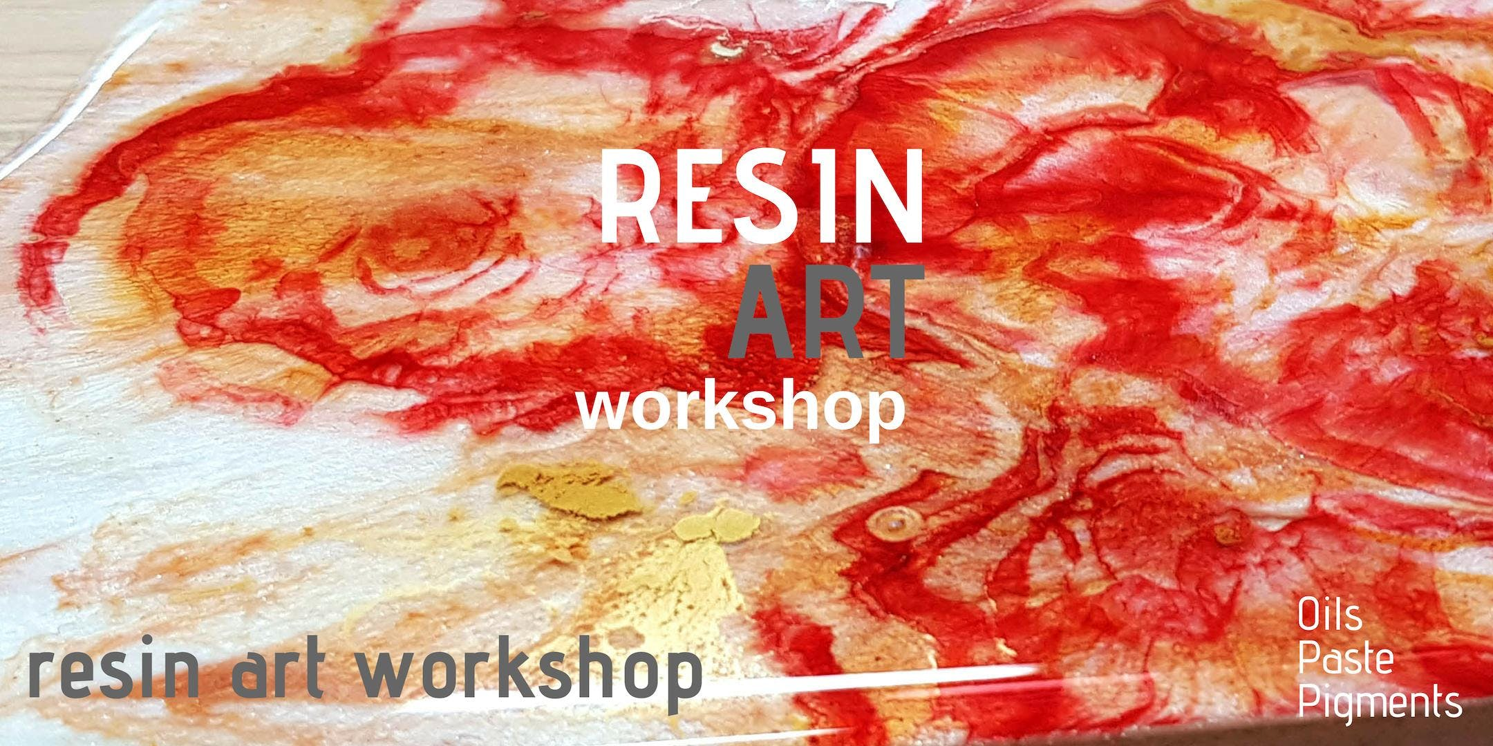 Resin Art Workshop Saturday 19th Jan
