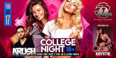 College Night 18+ | 562 Ultra Lounge