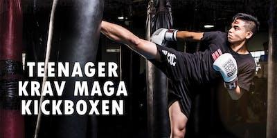 Teenager Kickboxen - Krav Maga Einsteigerkurs Selb